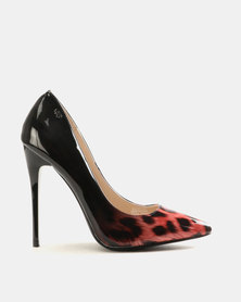 Miss Black Blanka Heels Red