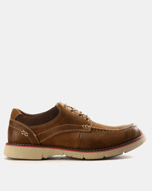 Grasshoppers Ross Leather Lace Ups Tan