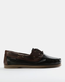 Grasshoppers Freeport Leather Lace Ups Brown