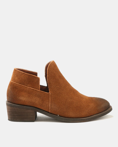 Dolce Vita Dolce Vita Laredo-702 Leather Ankle Boots Choc new styles online FEAGt