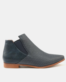 Dolce Vita Stetson-303 Ankle Boots Navy