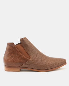 Dolce Vita Stetson-303 Ankle Boots Tan