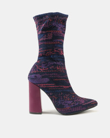 Dolce Vita Budapest Ankle Boots Fuschia