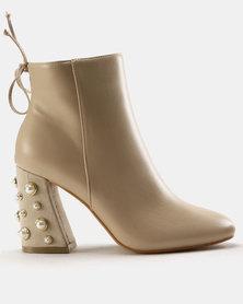 Dolce Vita Vienna Boots Nude
