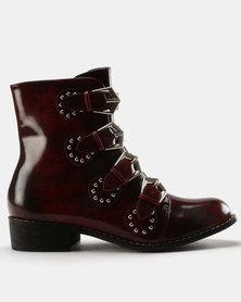 Dolce Vita Soho Boots Burgundy