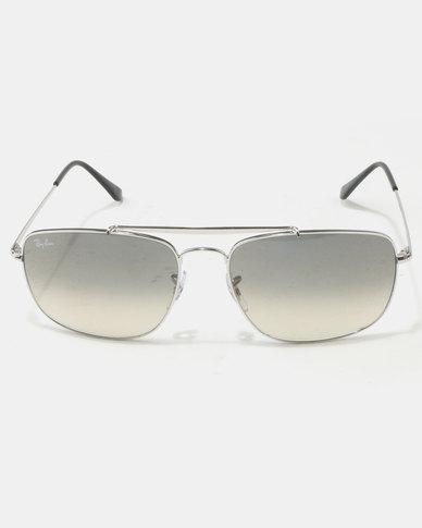 30c4188ce4 Ray-Ban The Colonel Sunglasses Silver