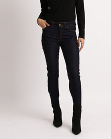 Utopia Basic Straightleg Jeans Blue