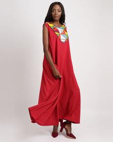 Jozsy Ankara Dress Red