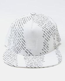 adidas Citi Camo Snapback Cap White