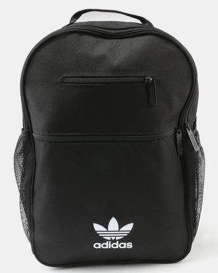 24f96d52649 adidas BP ESS Trefoil Backpack Black   Zando