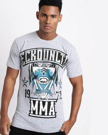 Ecko MMA Shield Tee Grey
