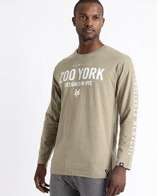 Zoo York Core Long Sleeve Tee Green