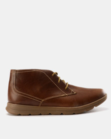 New Port Var006 Lace Up Ankle Boot Carvano Brown/Beige