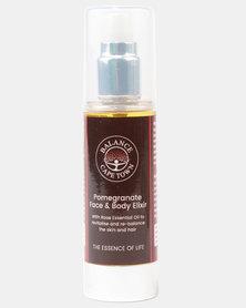 Balance Pomegranate Nourishing Body Elixir With Rose Oil