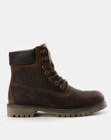 8952c4a8319c Jeep Gecko Boots Buffalo Brown