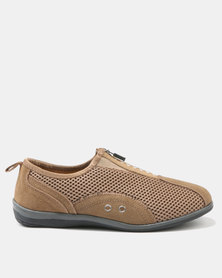 Step On Airs Clara-Ann Ladies Sneakers Taupe