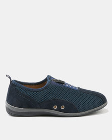 Step On Airs Clara-Ann Ladies Sneakers Navy
