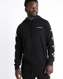 Converse Star Chevron FT Graphic Pullover Hoodie Black