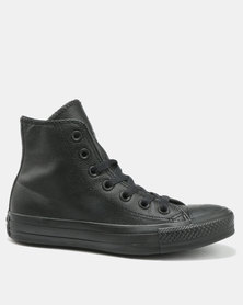 Converse Chuck Taylor All Star Hi Top Sneakers Black Mono