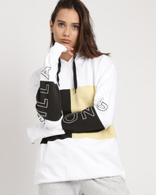 Billabong Sidelined Hooded Pullover White