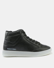 North Star High Top Sneakers Black