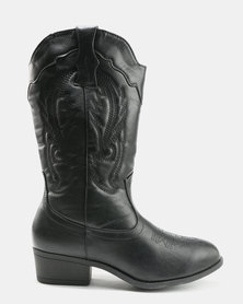 AWOL Mid Calf Boots Black