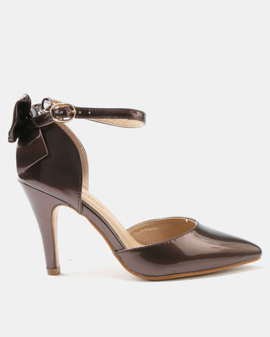 2014 newest for sale Urban Zone Urban Zone High Heel Court Shoes Rose Gold quality free shipping low price cheap sale newest outlet low shipping clearance cheap IWfpaI