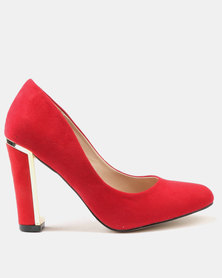 Wild Alice by Queue Wild Alice by Queue Sling Back Pointy Court On Block Heel Fuschia cheap sale under $60 clearance classic buy cheap free shipping free shipping find great T6UffQ