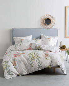 Linen House Jacqueline Duvet Cover Set  Multi