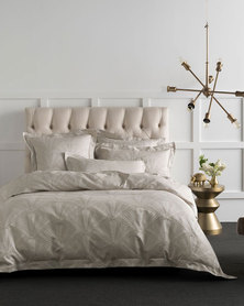 Linen House Scandicci Duvet Cover Set Moonlight