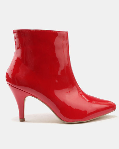 Legit Legit Patent Kitten Heel Pointy Boots Red online cheap price low price fee shipping for sale discount finishline buy cheap collections cOuFKfly0O