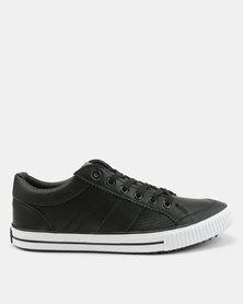 Tom_Tom Savage Low Cut Lace Up Sneakers Black