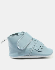 Shooshoos Truman Classic Booties Blue