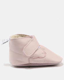 Shooshoos Fargo Unlined Booties Pink