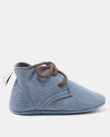 Shooshoos Vector Veldskoen Lace Up Shoes Blue
