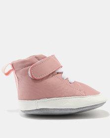 Shooshoos City Of Light High Top Sneakers Pink