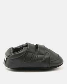 Shooshoos Spencer Double Strap Sneakers Black