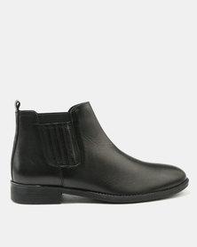 how much sale online outlet new arrival Watson Elite Watson Elite Porter Leather Boots Black with credit card sale online pictures sale online prices cheap price LaoDSC