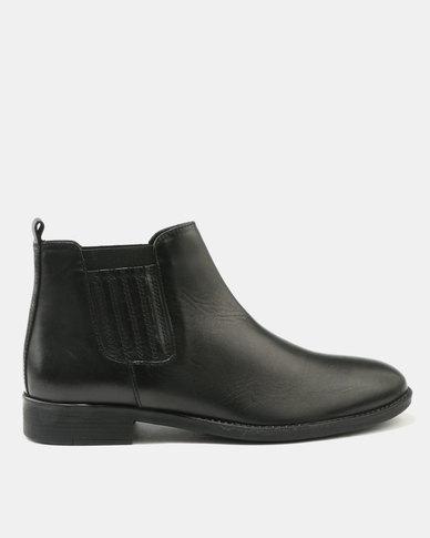 cheap tumblr Watson Elite Watson Elite Bennet Leather Boots Black 2015 online ebay cheap price RKTV9mr5CC