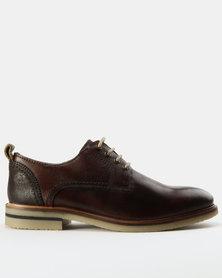 Watson Elite Orson Leather Shoes Brown