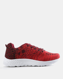 Tom_Tom Patterned Sneakers Red