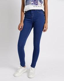 Legit Portia Push Up Jeans Periwinkle