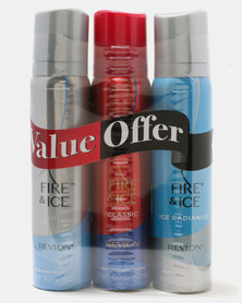 Fire & Ice Perfume Body Spray Banded Pack