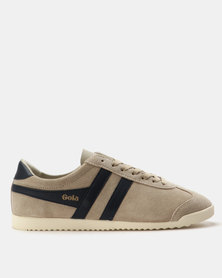 Gola Bullet Suede Sneakers Indian Stone & Navy