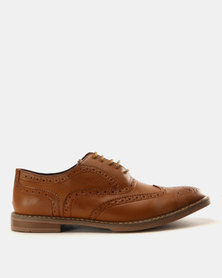 Anton Fabi Basilio Casual Lace Up Shoes Brown