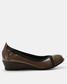DR Hart Lynix Wedges Brown