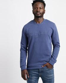Sassoon Pullover Sweat Shirt Blue