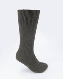 Falke Pure Cotton Socks Charcoal