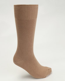 Falke Pure Cotton Socks Beige