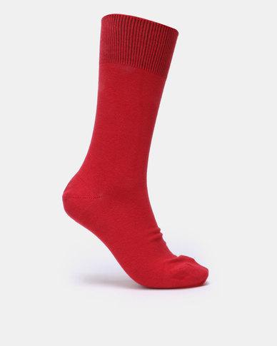 Falke Pure Cotton Socks Rio Red